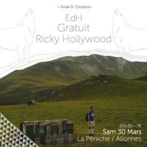ESCALE EXP#19 Gratuit + Ricky Hollywood + Edh