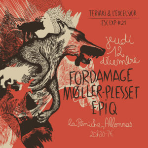ESCALE EXP#21 Fordamage + Epiq +Moller Pleset