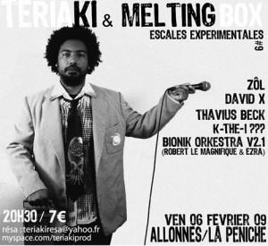 ESCALE EXP#9 Thavius Beck + K The I??? + Zôl + Robert Le Magnifique + Bionic Orchestra